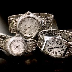 Lois Hill Sterling Silver Watch - Extra Photos